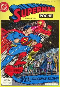 Cover Thumbnail for Superman Poche (Sage - Sagédition, 1976 series) #102-103