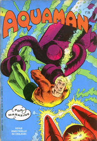 Cover Thumbnail for Aquaman (Arédit-Artima, 1970 series) #2