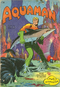 Cover Thumbnail for Aquaman (Arédit-Artima, 1970 series) #1