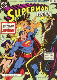 Cover Thumbnail for Superman Poche (Sage - Sagédition, 1976 series) #98-99