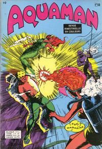 Cover Thumbnail for Aquaman (Arédit-Artima, 1970 series) #10
