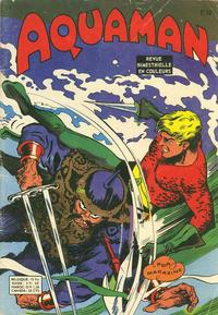 Cover Thumbnail for Aquaman (Arédit-Artima, 1970 series) #11