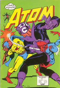 Cover Thumbnail for Atom (Arédit-Artima, 1971 series) #8