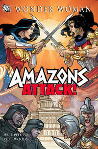 Cover Thumbnail for Wonder Woman: Amazons Attack (DC, 2007 series)