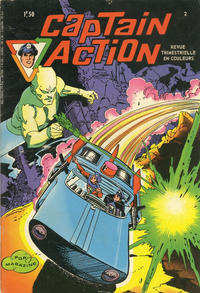 Cover Thumbnail for Captain Action (Arédit-Artima, 1971 series) #2