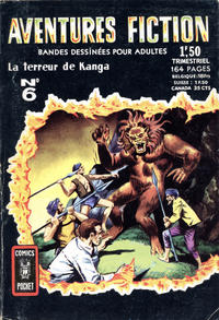 Cover Thumbnail for Aventures Fiction (Arédit-Artima, 1966 series) #6