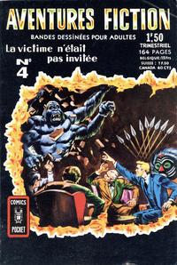 Cover Thumbnail for Aventures Fiction (Arédit-Artima, 1966 series) #4