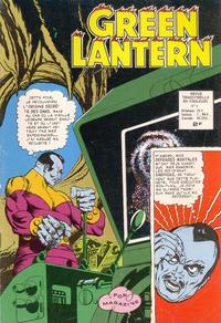 Cover Thumbnail for Green Lantern (Arédit-Artima, 1972 series) #9