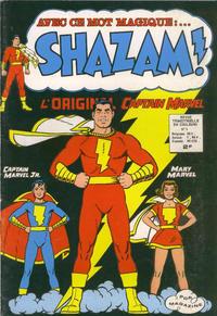 Cover Thumbnail for Shazam ! (Arédit-Artima, 1974 series) #3