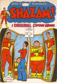 Cover Thumbnail for Shazam ! (Arédit-Artima, 1974 series) #4