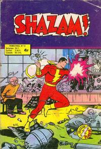 Cover Thumbnail for Shazam ! (Arédit-Artima, 1974 series) #12