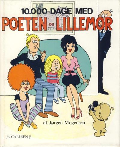 Cover for 10.000 dage med Poeten og Lillemor (Forlaget Carlsen, 1979 series)