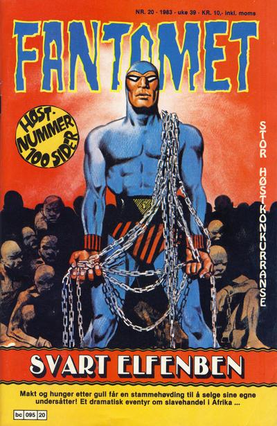 Cover for Fantomet (Semic, 1976 series) #20/1983
