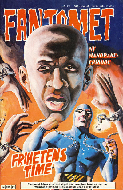 Cover for Fantomet (Semic, 1976 series) #21/1983