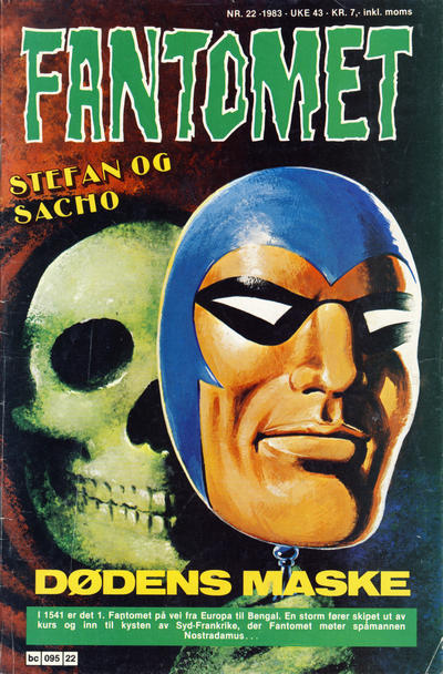 Cover for Fantomet (Semic, 1976 series) #22/1983