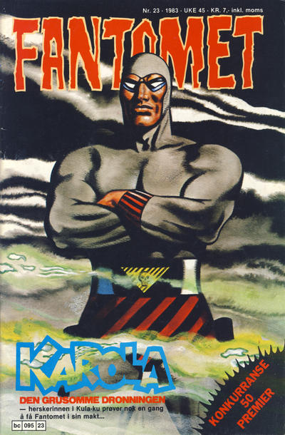 Cover for Fantomet (Semic, 1976 series) #23/1983