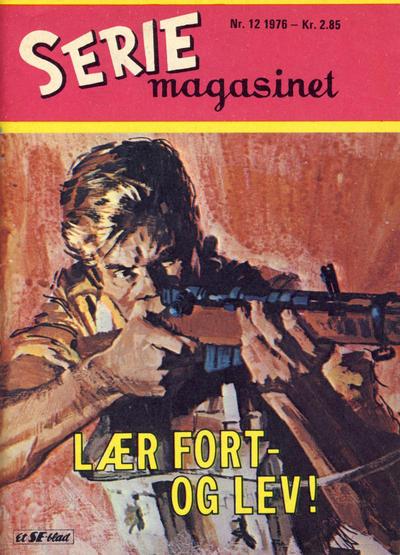 Cover for Seriemagasinet (Serieforlaget / Se-Bladene / Stabenfeldt, 1951 series) #12/1976