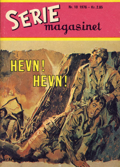 Cover for Seriemagasinet (Serieforlaget / Se-Bladene / Stabenfeldt, 1951 series) #10/1976