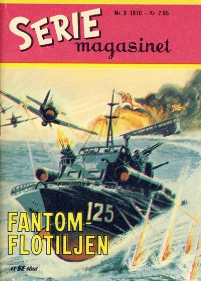 Cover for Seriemagasinet (Serieforlaget / Se-Bladene / Stabenfeldt, 1951 series) #9/1976