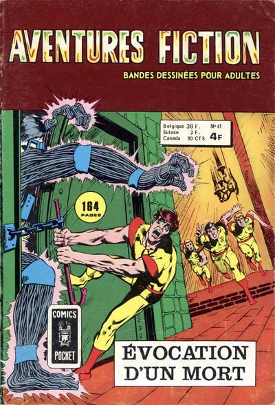 Cover for Aventures Fiction (Arédit-Artima, 1966 series) #41
