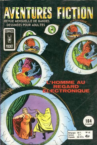 Cover for Aventures Fiction (Arédit-Artima, 1966 series) #40
