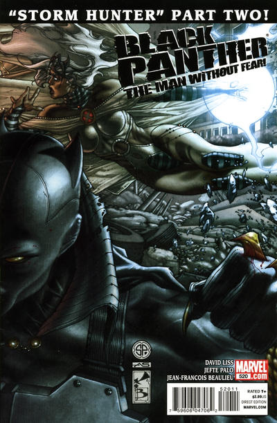 Cover for Black Panther: The Man Without Fear (Marvel, 2011 series) #520