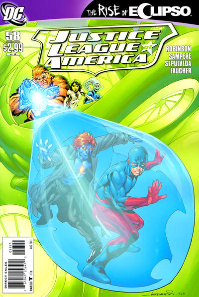 Cover for Justice League of America (DC, 2006 series) #58