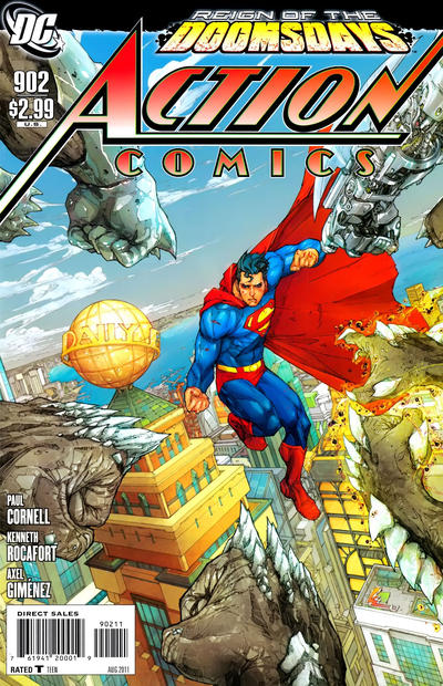 Cover for Action Comics (DC, 1938 series) #902 [Direct]