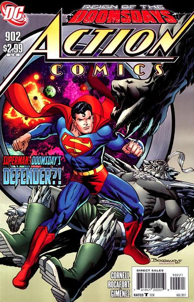 Cover for Action Comics (DC, 1938 series) #902 [Jon Bogdanove Variant]