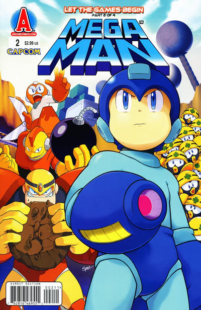 Cover for Mega Man (Archie, 2011 series) #2