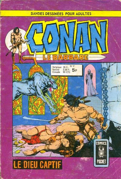 Cover for Conan (Arédit-Artima, 1977 series) #2