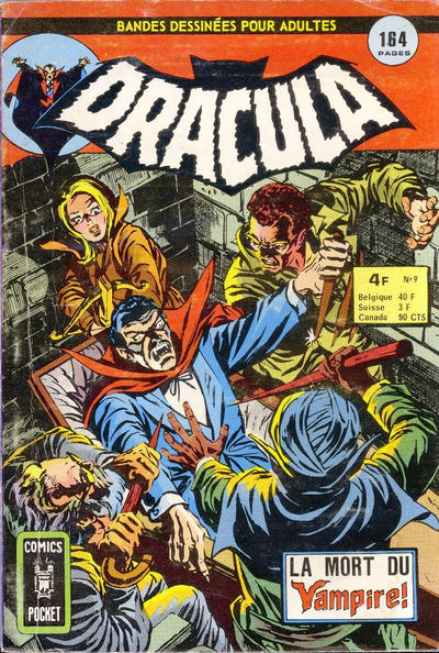 Cover for Dracula (Arédit-Artima, 1974 series) #9