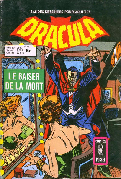 Cover for Dracula (Arédit-Artima, 1974 series) #16