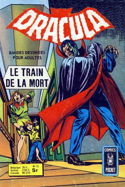 Cover for Dracula (Arédit-Artima, 1974 series) #13