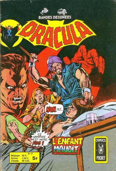 Cover for Dracula (Arédit-Artima, 1974 series) #21
