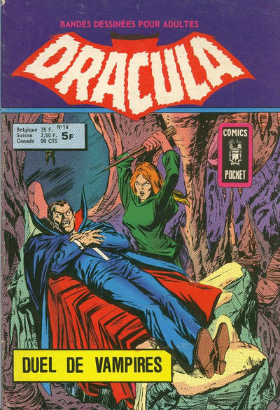 Cover for Dracula (Arédit-Artima, 1974 series) #14