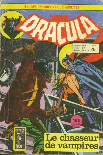 Cover for Dracula (Arédit-Artima, 1974 series) #7