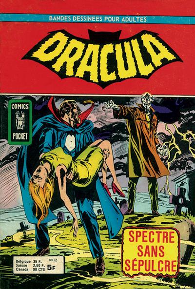 Cover for Dracula (Arédit-Artima, 1974 series) #12