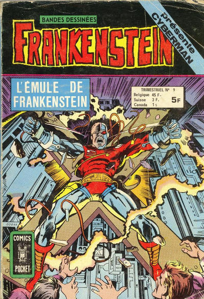Cover for Frankenstein (Arédit-Artima, 1975 series) #9