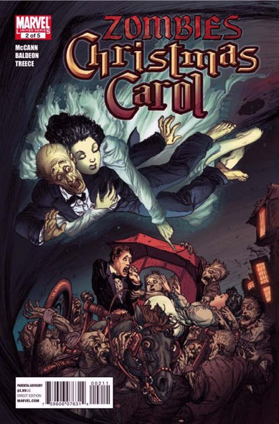 Cover for Marvel Zombies Christmas Carol (Marvel, 2011 series) #2