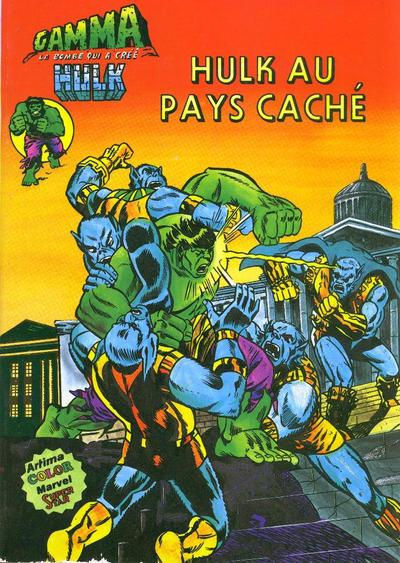 Cover for Gamma la bombe qui a créé Hulk (Arédit-Artima, 1979 series) #9
