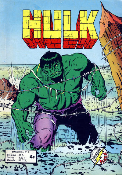 Cover for Hulk (Arédit-Artima, 1976 series) #8