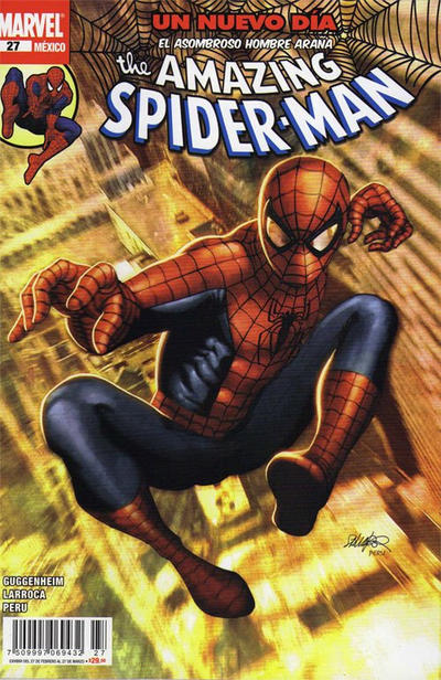 Cover for The Amazing Spider-Man, el Asombroso Hombre Araña (Editorial Televisa, 2005 series) #27