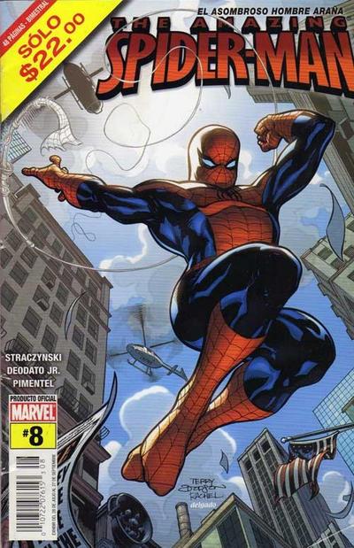 Cover for The Amazing Spider-Man, el Asombroso Hombre Araña (Editorial Televisa, 2005 series) #8