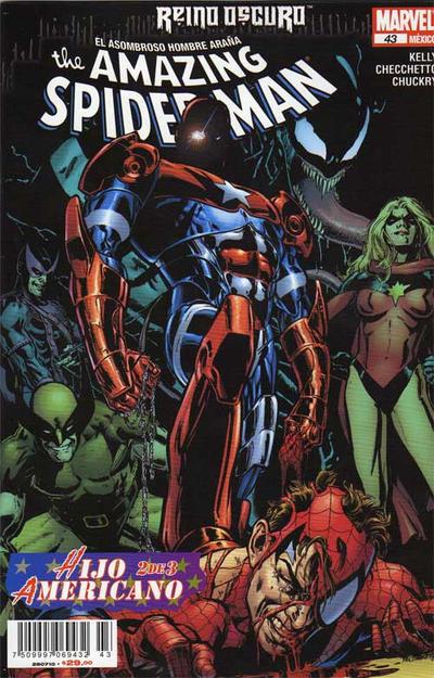 Cover for The Amazing Spider-Man, el Asombroso Hombre Araña (Editorial Televisa, 2005 series) #43