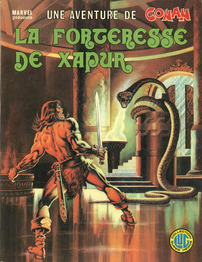 Cover for Une Aventure de Conan (Editions Lug, 1976 series) #7 - La forteresse de Xapur