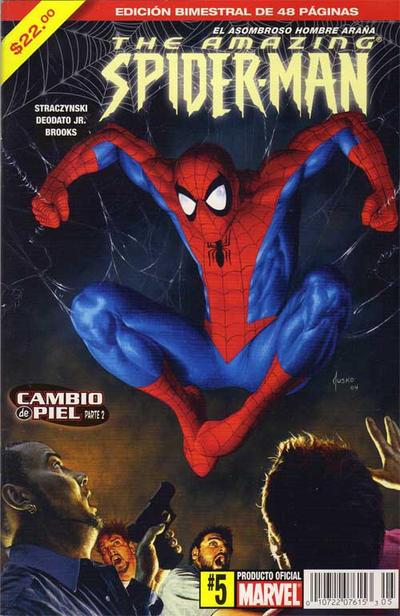 Cover for The Amazing Spider-Man, el Asombroso Hombre Araña (Editorial Televisa, 2005 series) #5