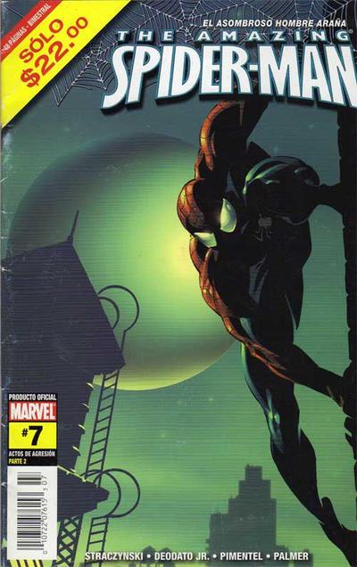Cover for The Amazing Spider-Man, el Asombroso Hombre Araña (Editorial Televisa, 2005 series) #7