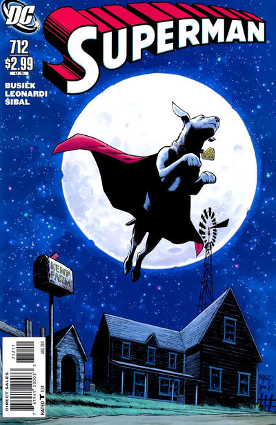 Cover for Superman (DC, 2006 series) #712 [Direct]