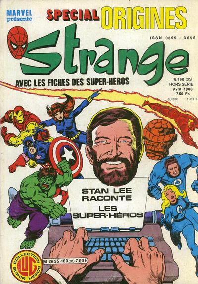 Cover for Strange Spécial Origines (Editions Lug, 1981 series) #160